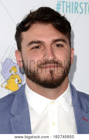 LOS ANGELES - APR 18:  Zane Hijazi at the Thirst Gala 2017 at Beverly Hilton Hotel on April 18, 2017 in Beverly Hills, CA