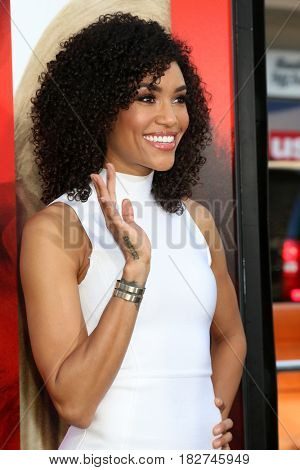 LOS ANGELES - APR 18:  Annie Ilonzeh at the
