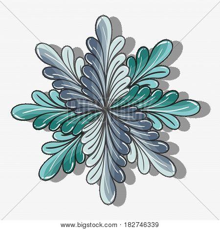 nice plant decoration herbal botany, vector illustration