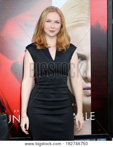 LOS ANGELES - APR 18:  Molly Quinn at the