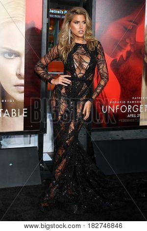 LOS ANGELES - APR 18:  Kara Del Toro at the