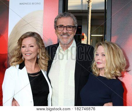 LOS ANGELES - APR 18:  Cheryl Ladd, Brian Russell, Jordan Ladd at the