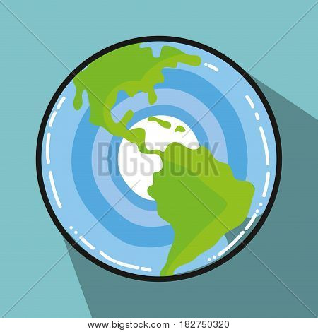 earth planet galactic exploration, vector illustration design