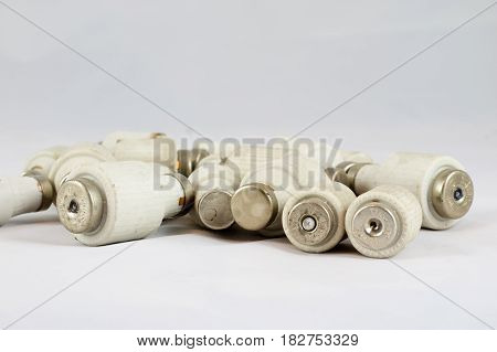 Wine Bottle Stopper On White Isolated Background