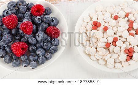 Pills Or Fresh Berries.