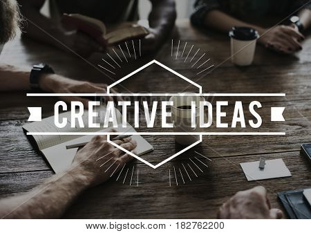 Creative Thinking Brainstorm Word Phrase