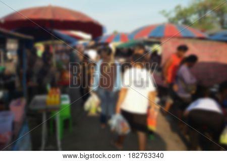 Blurred Photo, Blurry Image,  Flea Market, Background