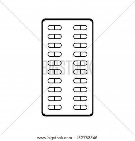 pills medication health icon image vector illustration design
