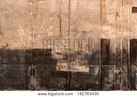 Abstract Painting Art: Beige and Black Colors, art theme