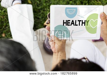 Healthy Life Exercise Vitality Wellness Nutrition