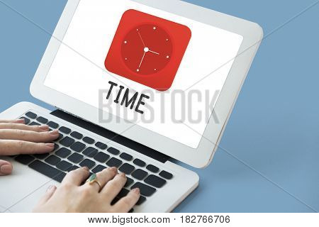 Time Clock Graphics Icon Symbol