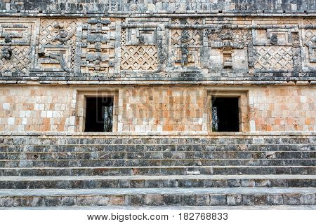 Ruins In Uxmal, Mexico