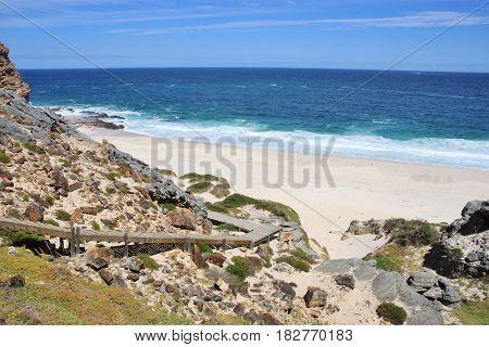 Dias beach. The Cape of Good Hope, Cape Town, South Africa.