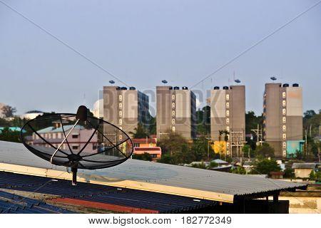 satellite/satellite in the sky/satellite rooftop.satellite/satellite in the sky/satellite rooftop
