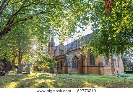 The Church of the Holy Sepulchre Northampton England..