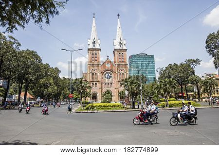 Notre Dame Cathedral Basilica Of Saigon