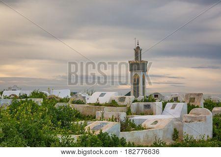 Cemetery On The Edge Of Meknes Medina, Morocco