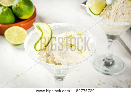 Lime Ice Cream, Sorbet
