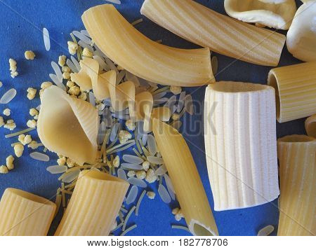Traditional Italian Pasta With Copy Space