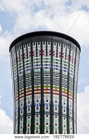 Torre Arcobaleno (rainbow Tower) In Milan, Italy