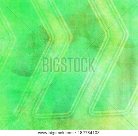 Abstract grunge background with stripes green color