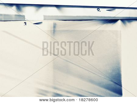 Abstract grunge background, made of film strips