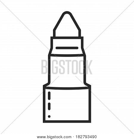 marker vector icon in simple outline style. This icon are perfect for your websites and applications.