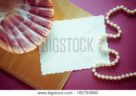 stylish vintage background with corrugated golden paper