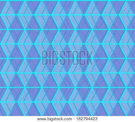 Seamless abstract background formed from overlapping trapezoids