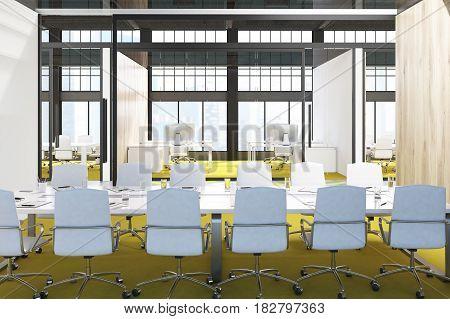 Conference Room, Yellow Floor