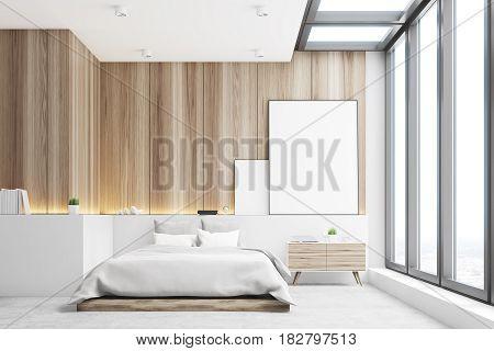 Light Bedroom, Wood, Front