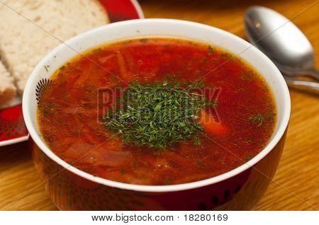 Russian Traditional Borscht