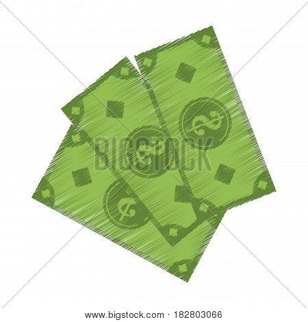 cash money icon image vector illustration design