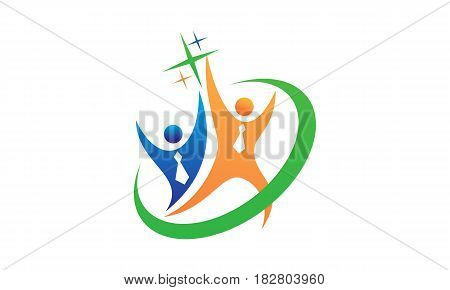 This Image describe about Career Coaching Logo