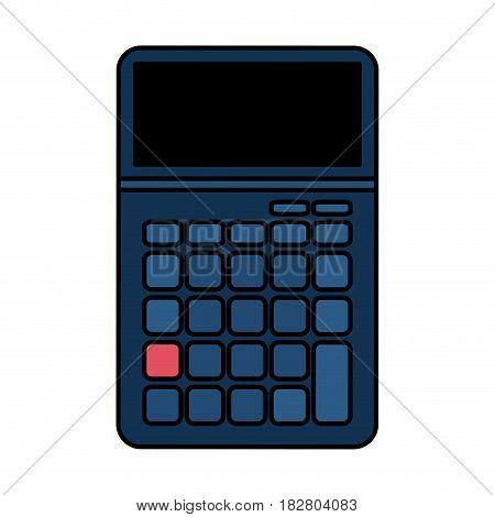 blank keys calculator icon image vector illustration design