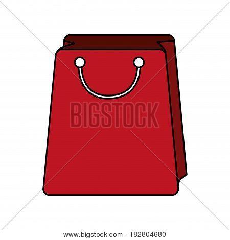 shopping bag icon image vector illustration design
