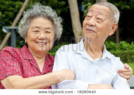 a happy Senior Couple