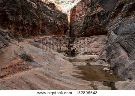Quiet Waters In Echo Canyon