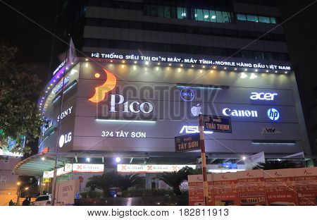 HANOI VIETNAM - NOVEMBER 24, 2016: Pico Mall. Pico Mall is one of the most popular shopping mall for electronics.