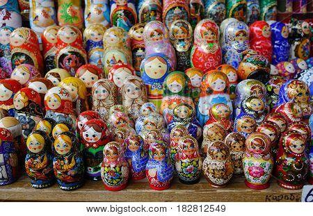 Izmailovsky Market In Moscow, Russia