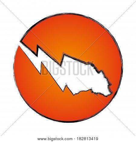 Stock market bearsymbol icon vector illustration graphic design