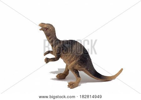 Figure toy dinosaur small for kid made from plastic