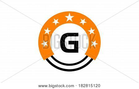 This vector describe about Star Union Initial G