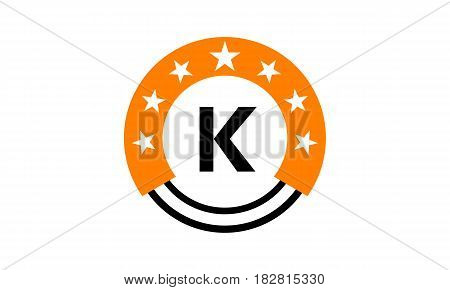 This vector describe about Star Union Initial K