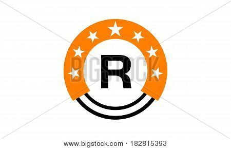 This vector describe about Star Union Initial R