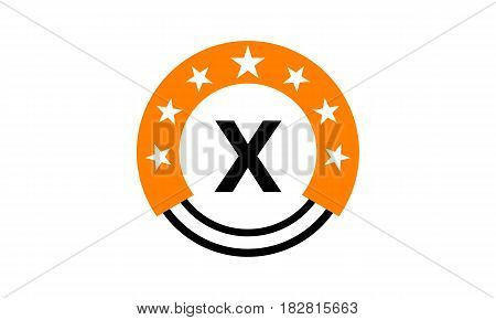 This vector describe about Star Union Initial X