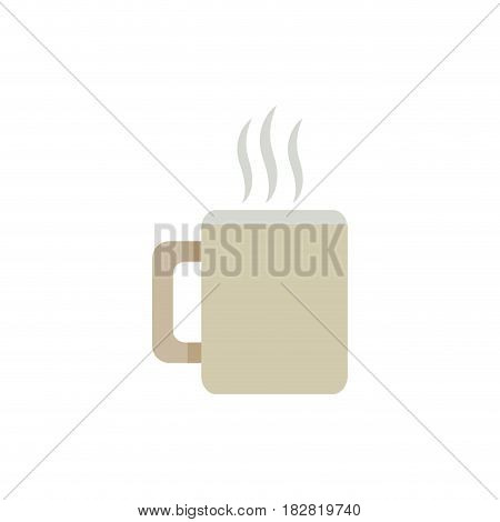coffee cup drink hot image vector illustration eps 10