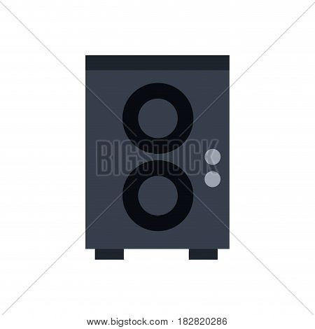 speaker volume music image vector illustration eps 10