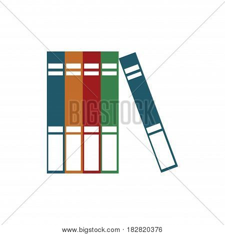 books read encyclopedia learn vector illustration eps 10