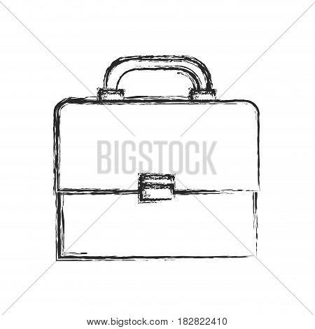 portfolio suitcase document sketch vector illustration eps 10